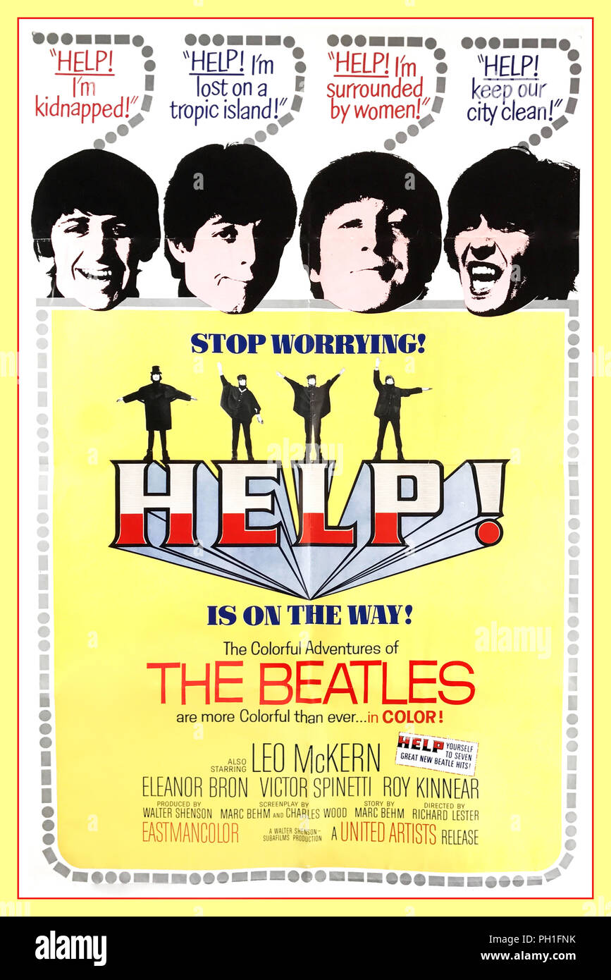 MUSIC POSTER The Beatles A Hard Day/'s Night