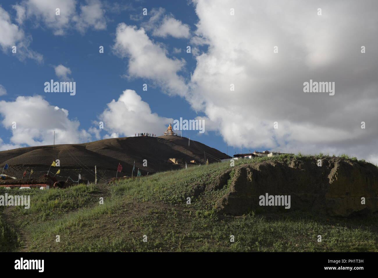 landscapes of Spiti , himachal pradesh ,India. - Stock Image