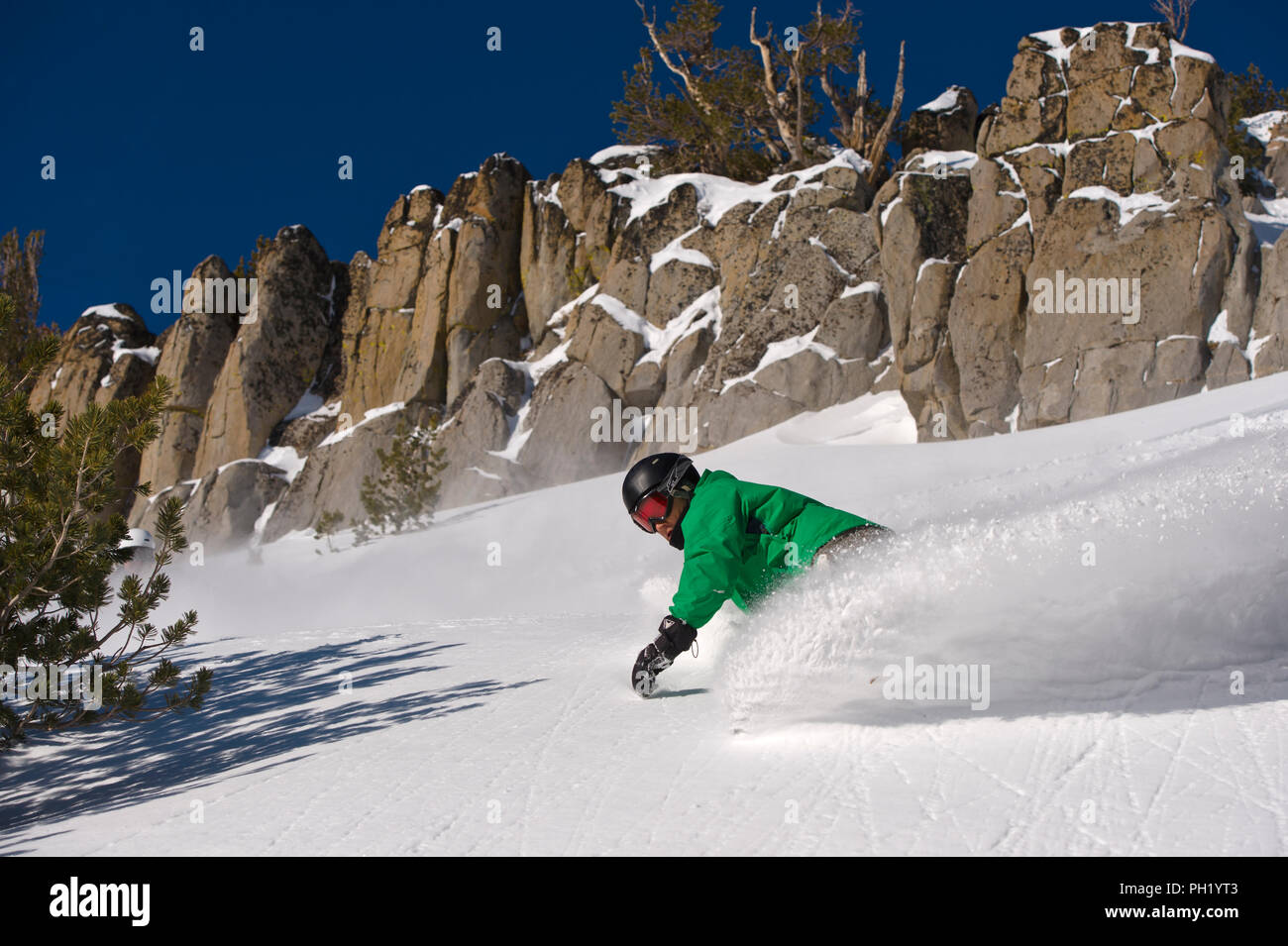 Groomers at Mt. Rose Ski Tahoe - 2012 Stock Photo