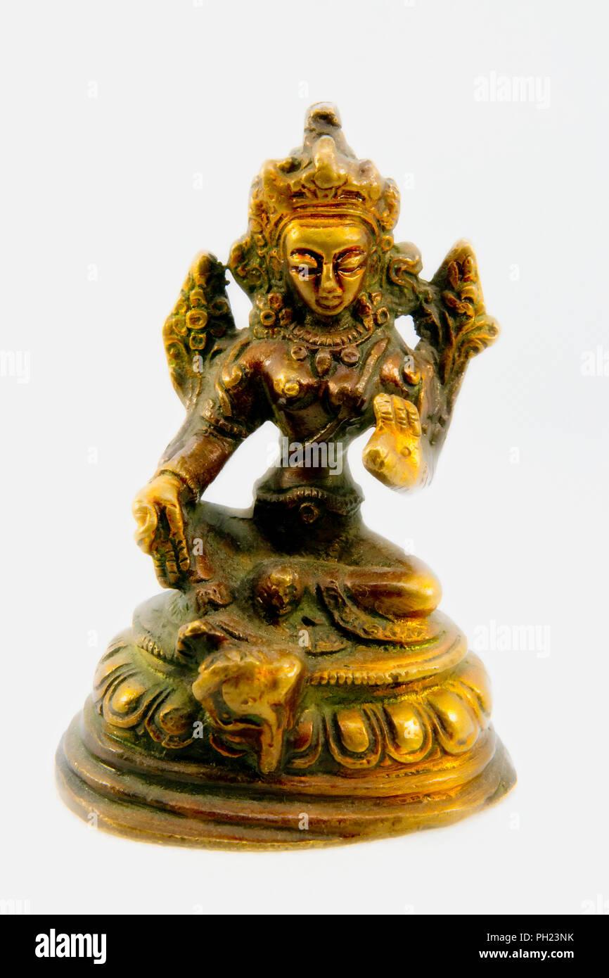 Indian goddess - Stock Image