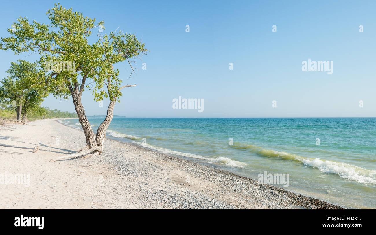 Sandbanks Provincial Park, Prince Edward County, Ontario, Canada - Stock Image