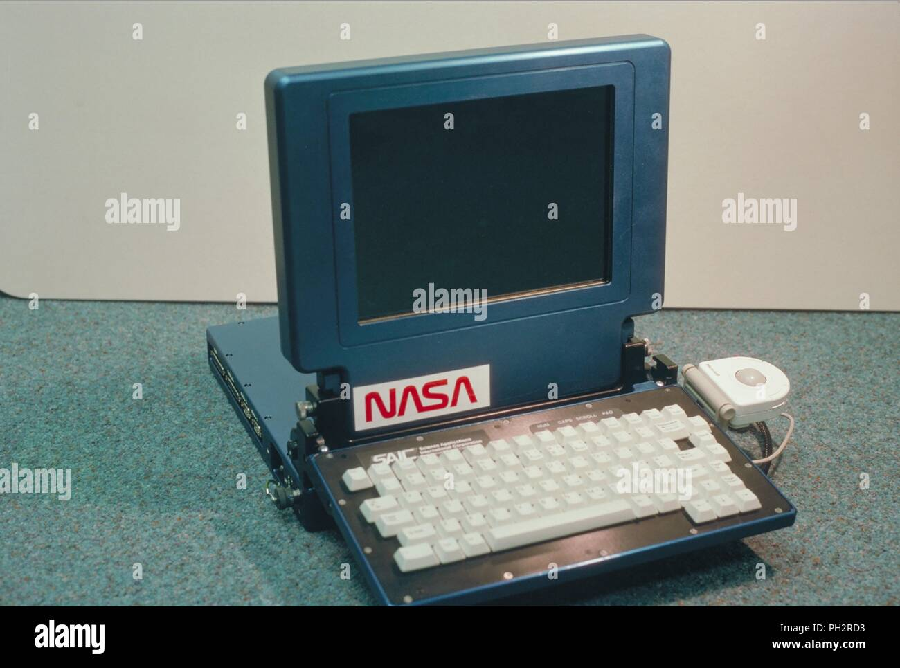 Color Photograph Of A Space Station Data Systems Advance Portable