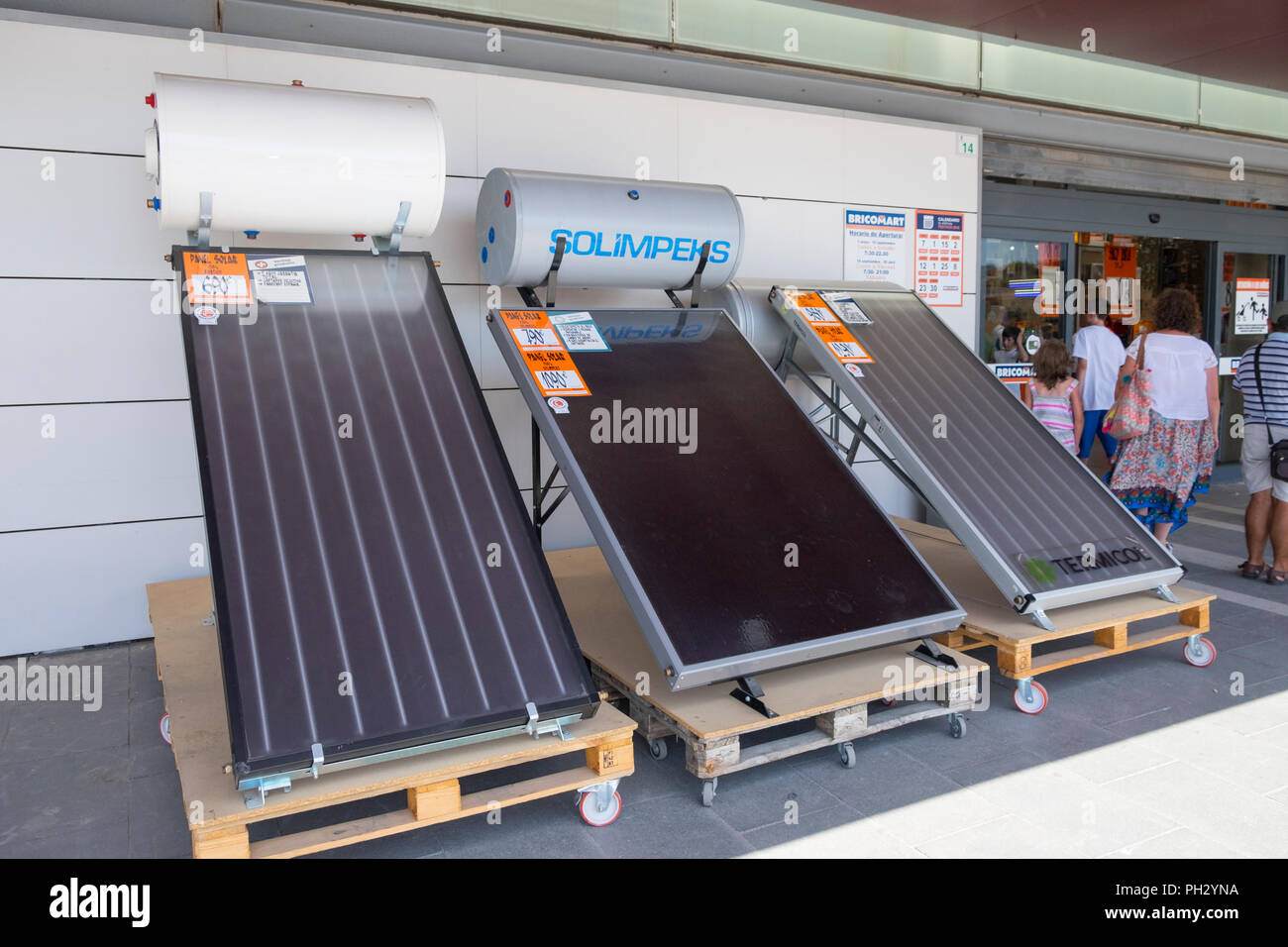 Solar Water Heater Stock Photos Amp Solar Water Heater Stock