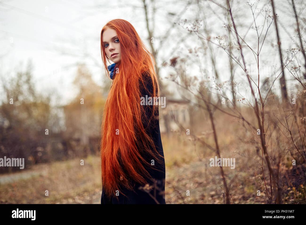Are hair long red redhead good idea