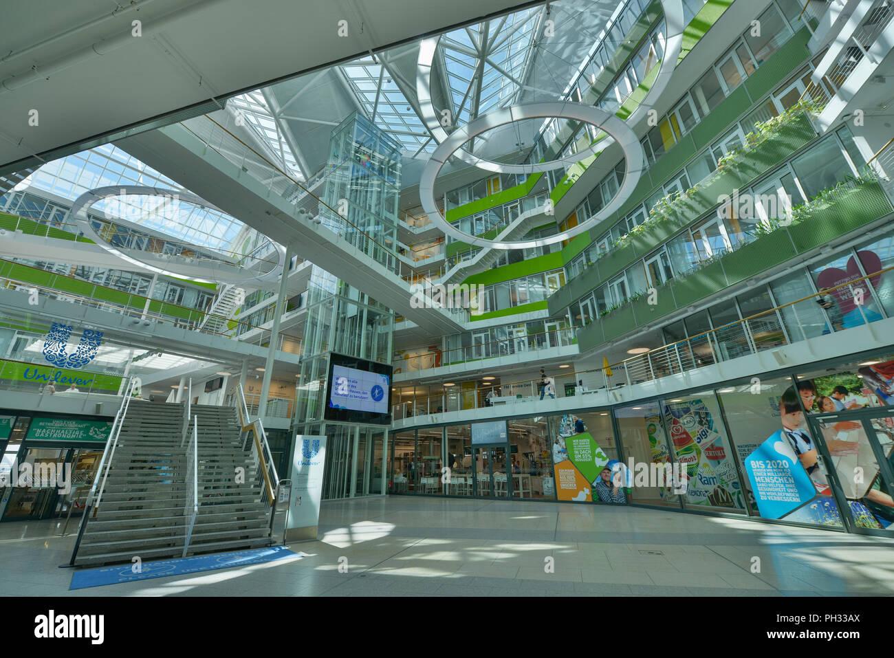 Unilever-Haus, Strandkai, Hafencity, Hamburg, Deutschland Stock Photo