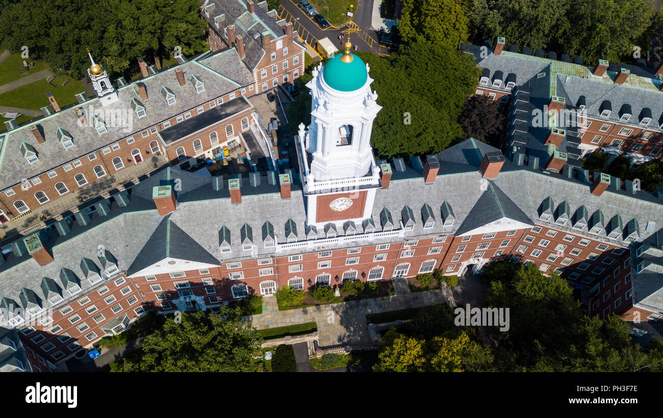 Eliot House, Harvard University, Boston, MA, USA - Stock Image