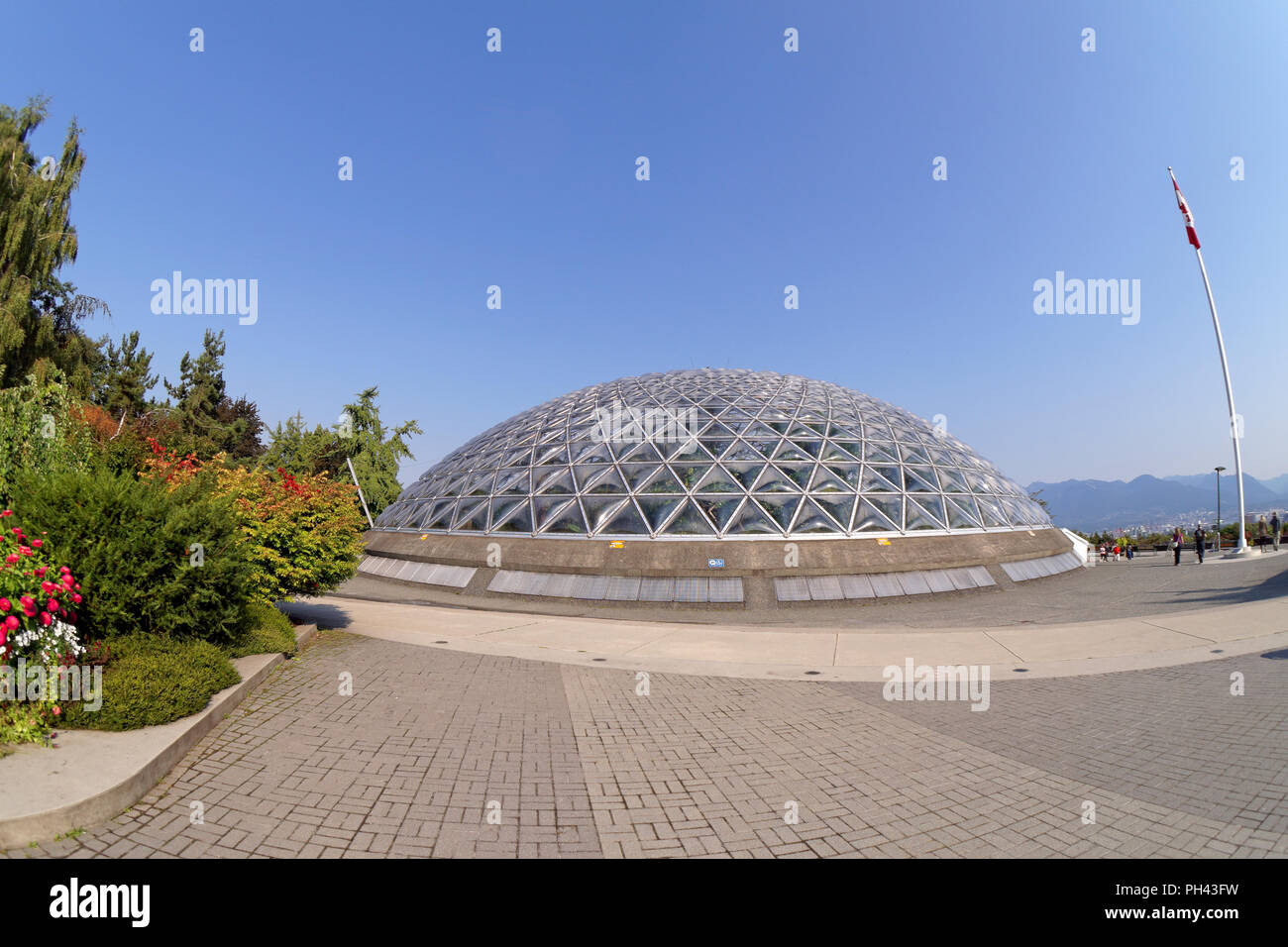 The Bloedel Conservatory in Queen Elizabeth Park, Vancouver, BC, Canada - Stock Image