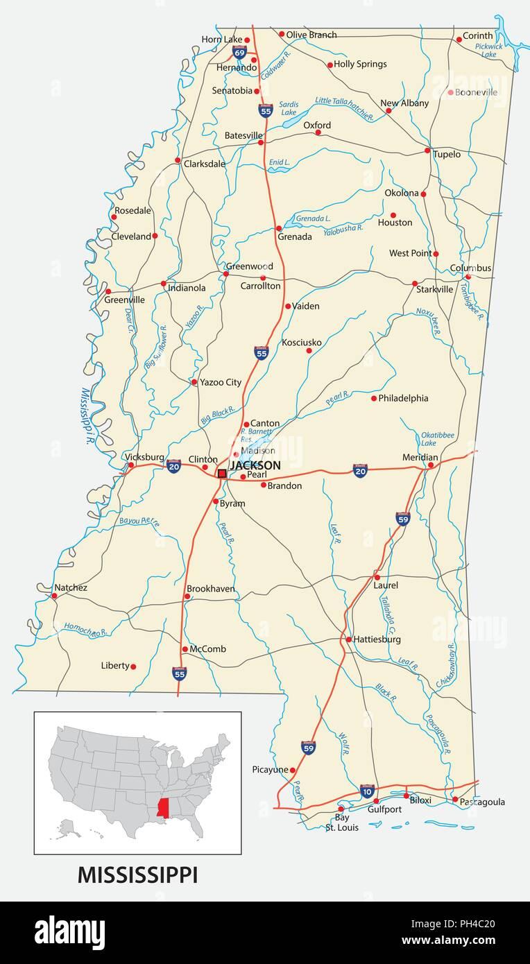 Mississippi Border Stock Photos & Mississippi Border Stock