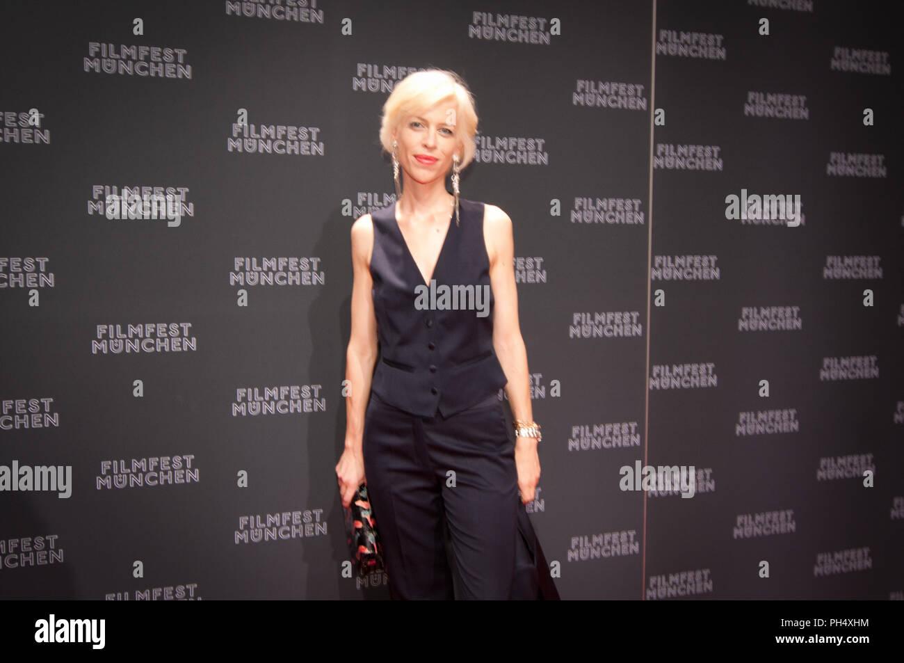 katja Eichener seen at Filmfest München 2012 - Stock Image