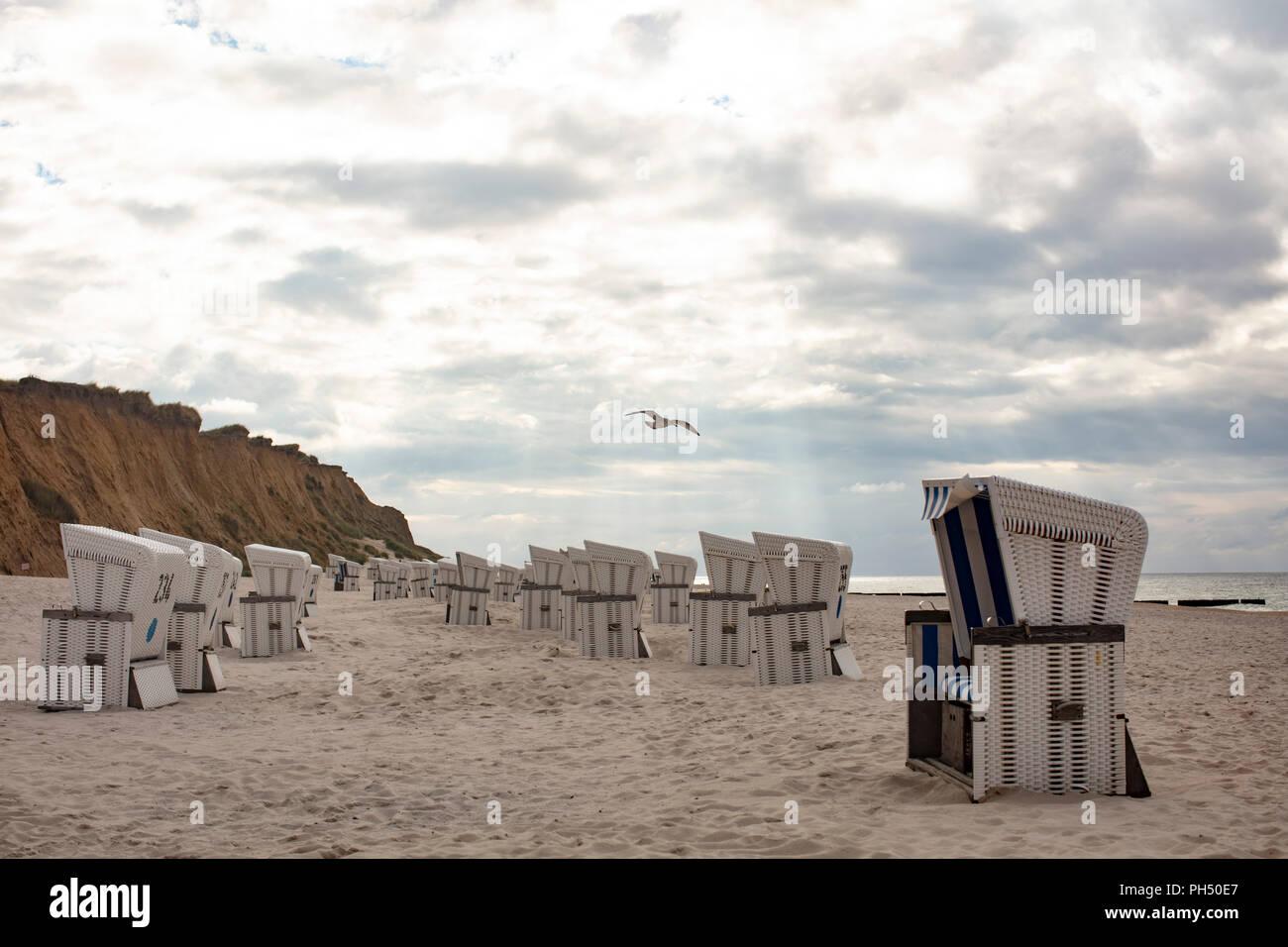 Sylt, Nordsee, Meer, Sea, Northsea - Stock Image