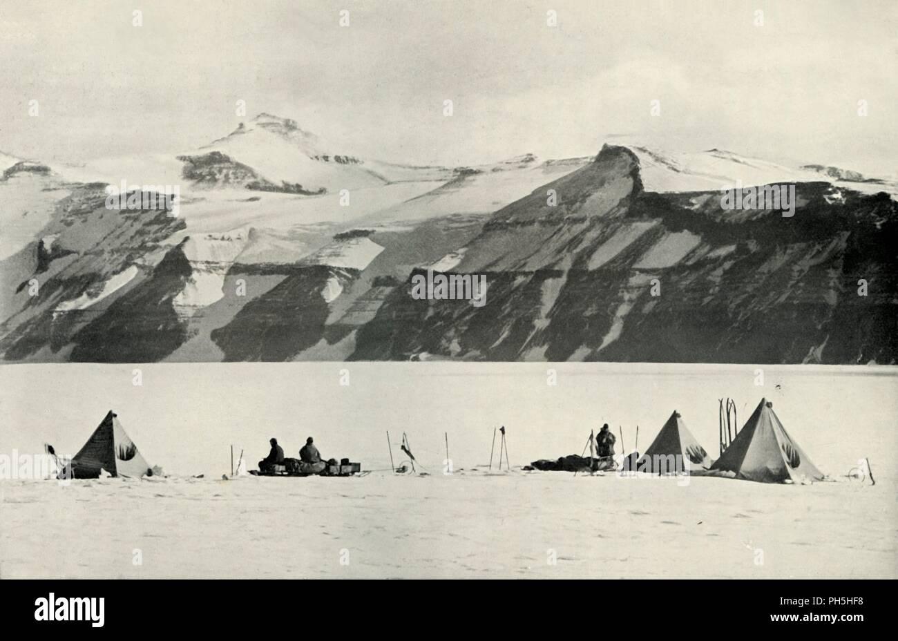 Camp Under The Wild Range', 20 December 1911, (1913)  Three