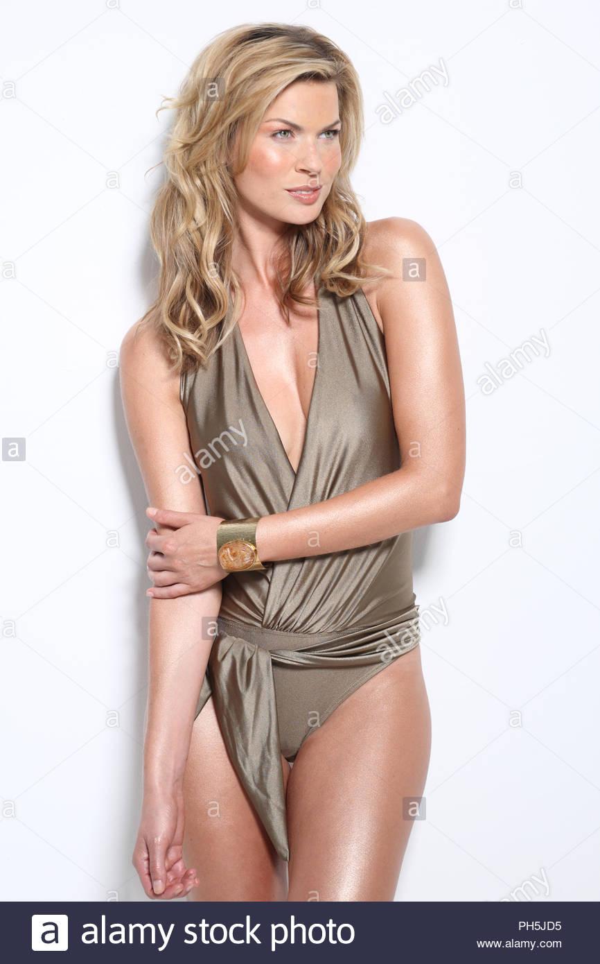 7f3008d284 Metallic Gold Swimsuit Stock Photos   Metallic Gold Swimsuit Stock ...