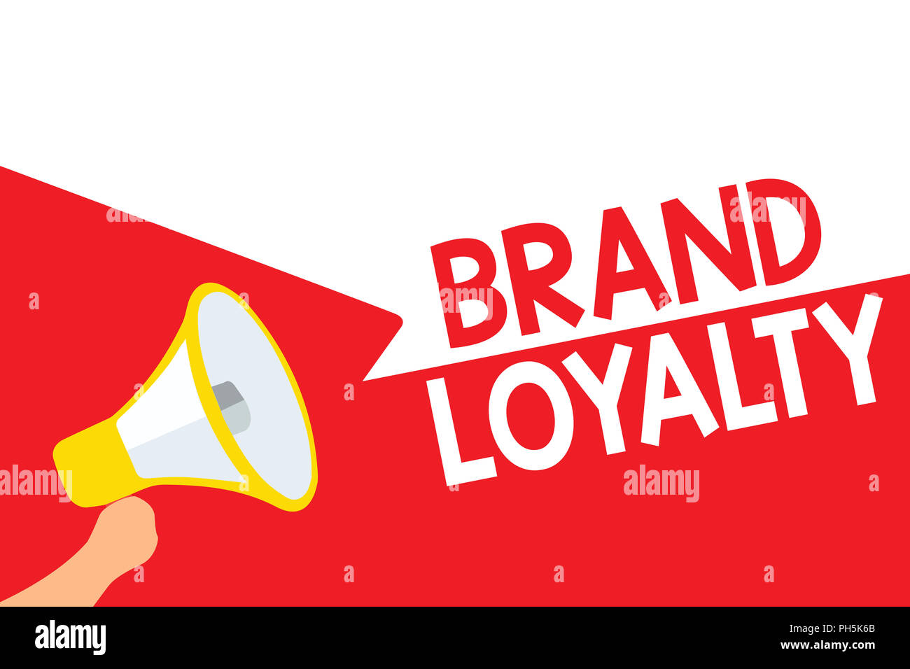 Trusted Care Stock Photos Images Alamy Bandana Impor 29 Word Writing Text Brand Loyalty Business Concept For Repeat Purchase Ambassador Patronage Favorite Megaphone