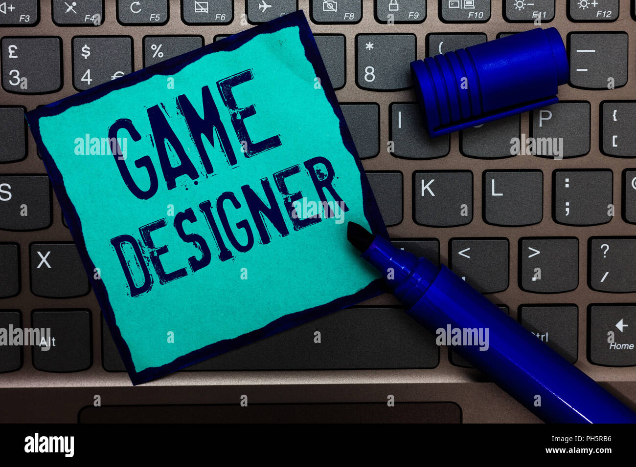 Word writing text Game Designer  Business concept for