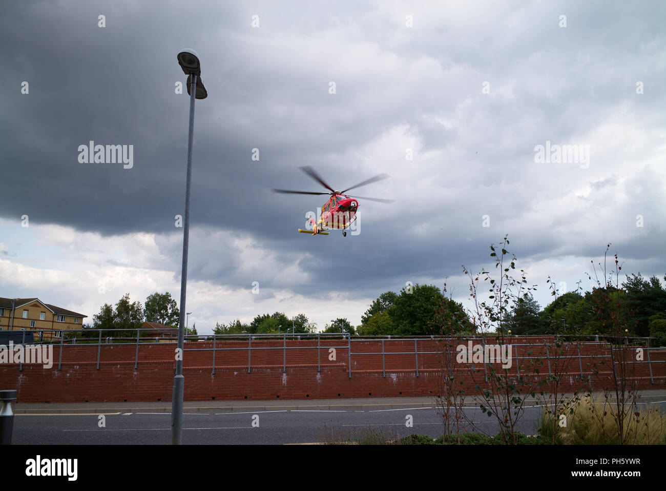 Essex and Herts Air Ambulance Stock Photo