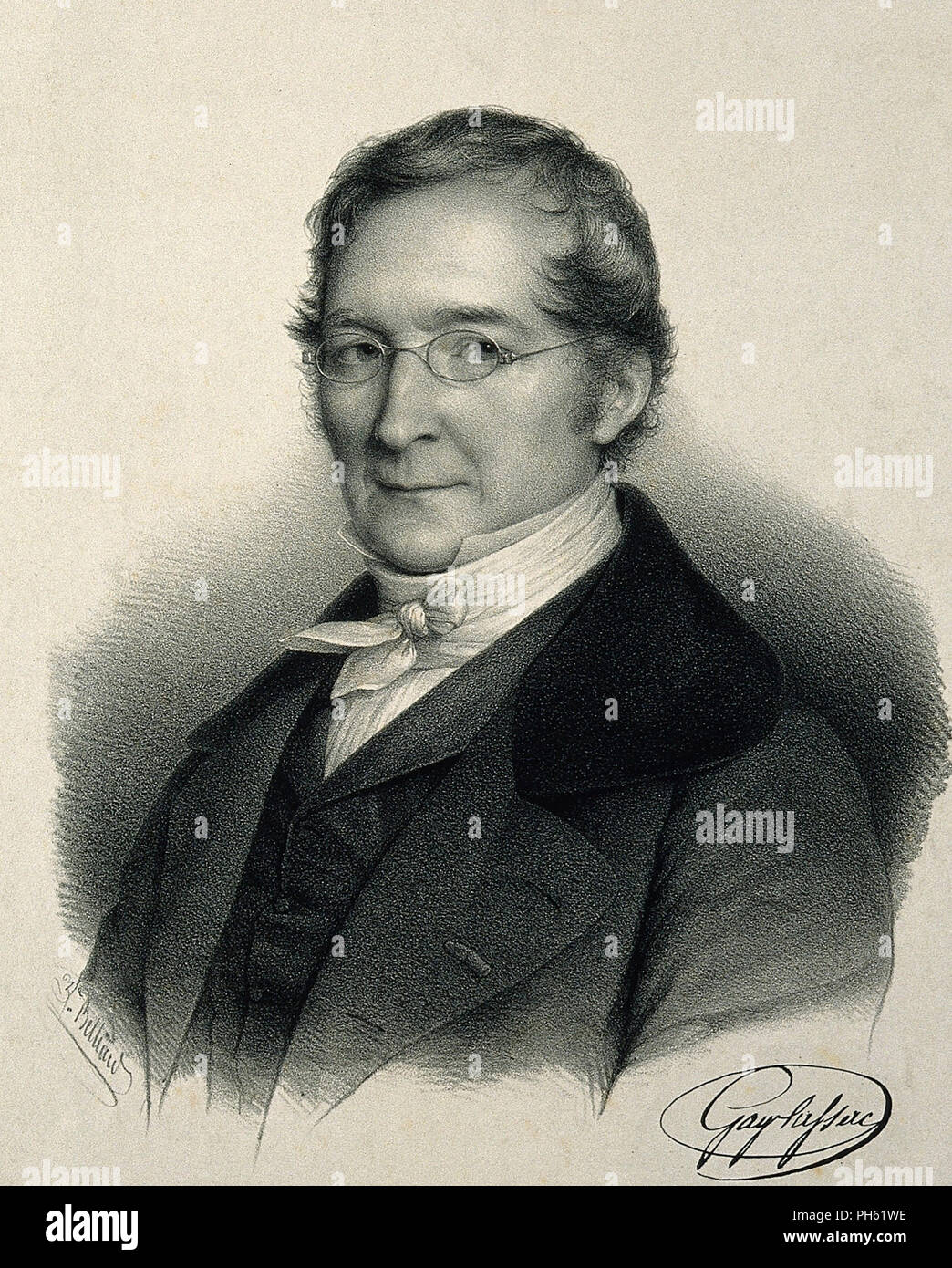 JOSEPH GAY-LUSSAC (1778-1850) French chemist and physicist - Stock Image