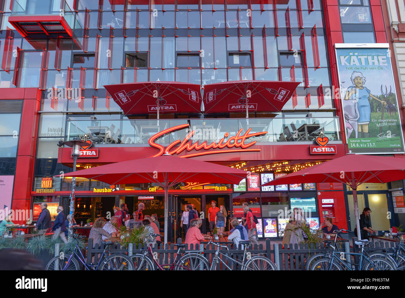 Schmidt Theater, Spielbudenplatz, Reeperbahn, St. Pauli, Hamburg, Deutschland Stock Photo