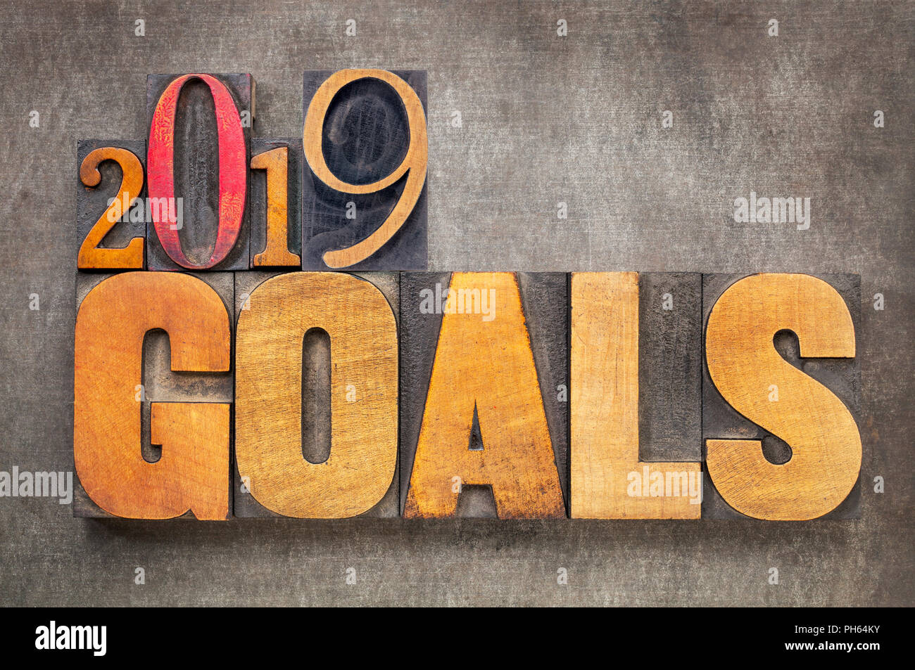 2019 New Years Resolutions 2019 goals   New Year resolution concept   word abstract in