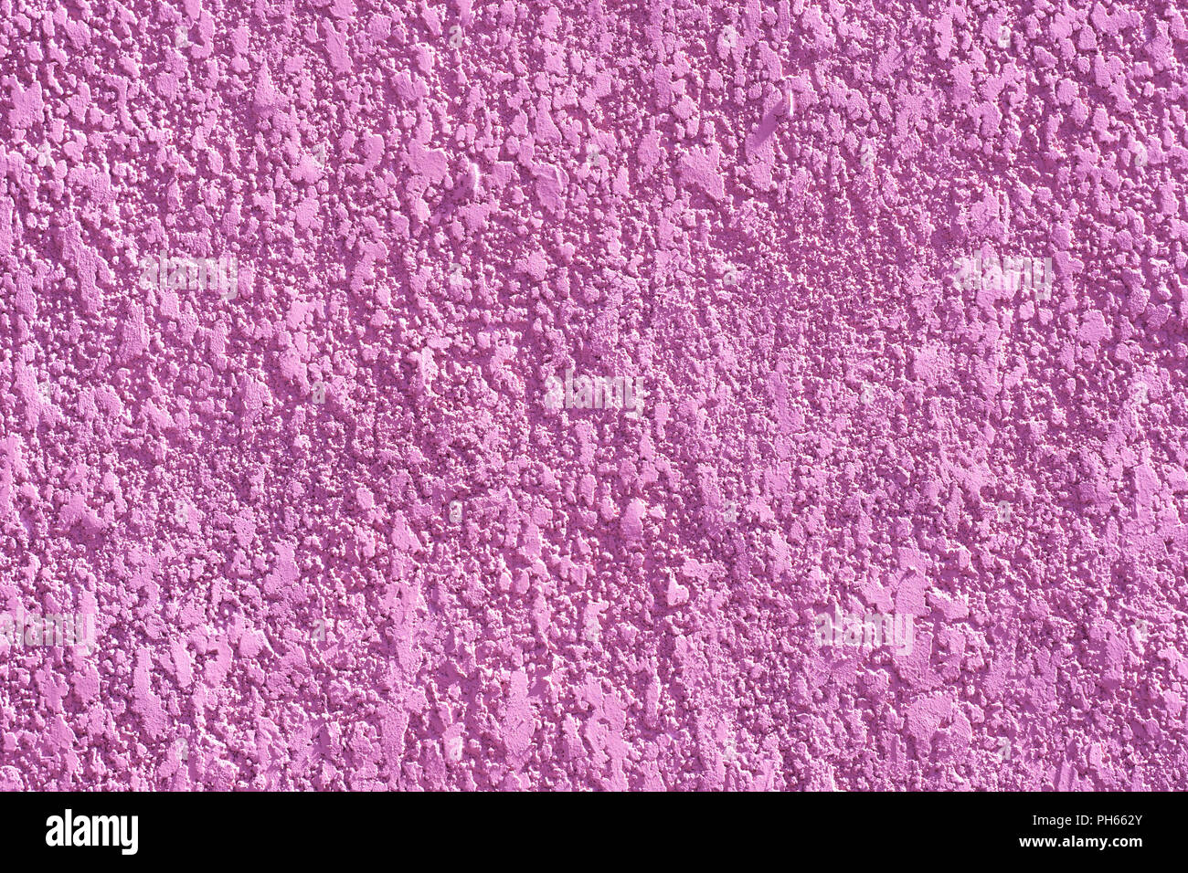 Pink color rough textured background. Vivid, bright background - Stock Image