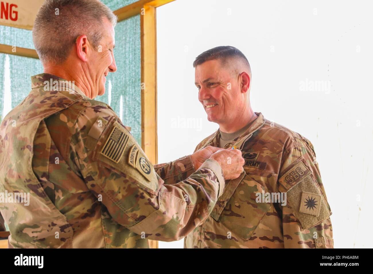 KANDAHAR AIRFIELD, Afghanistan (June 30, 2018) -- U S  Army