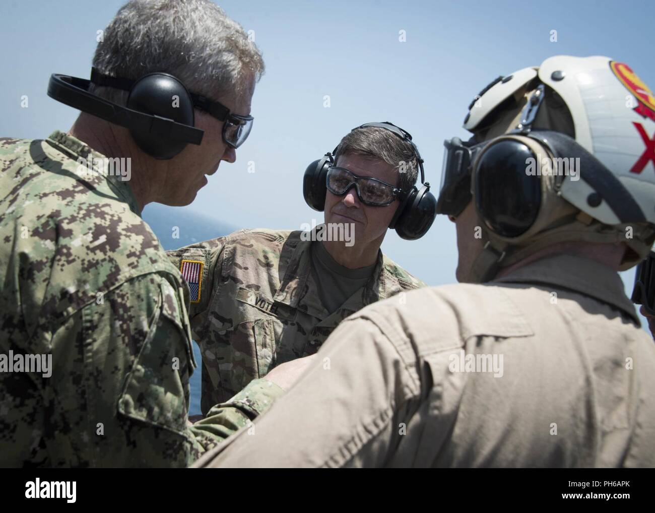 ARABIAN GULF (June 22, 2018) U S  Army Gen  Joseph Votel