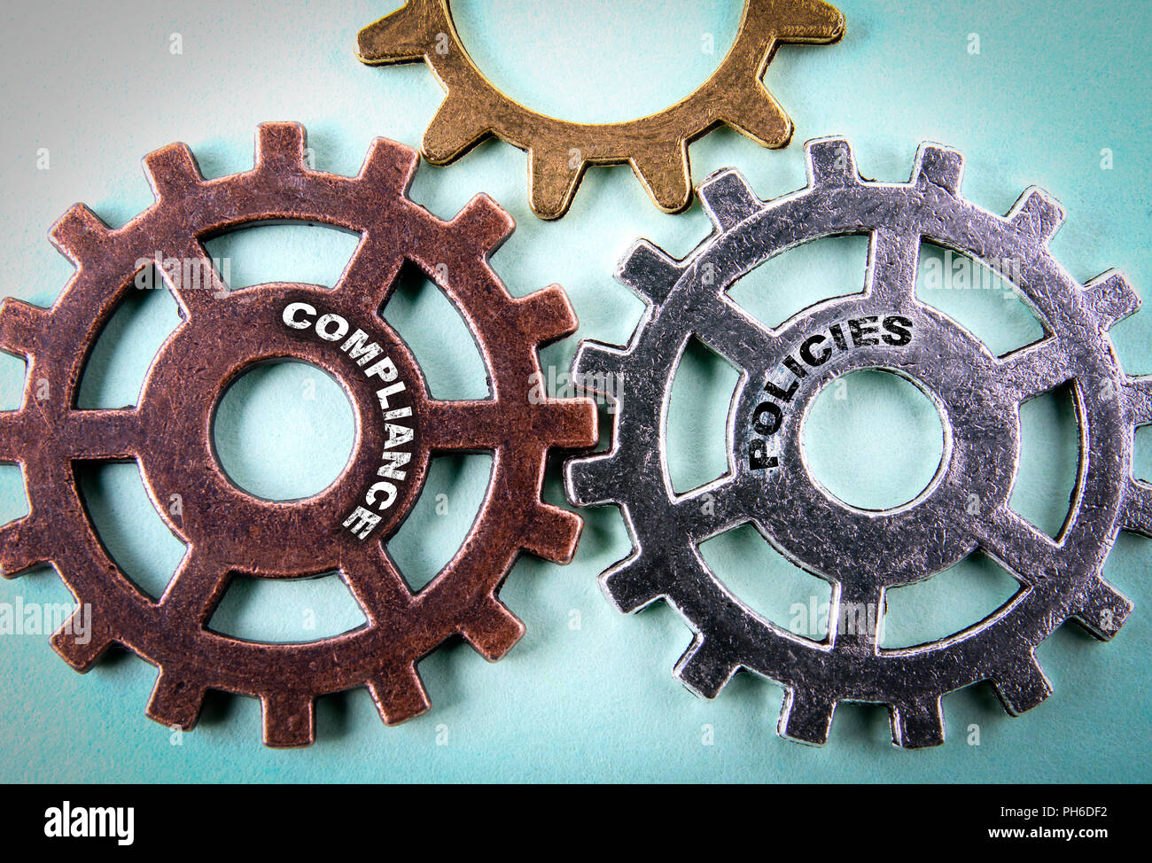 compliance and polisies concept - Stock Image
