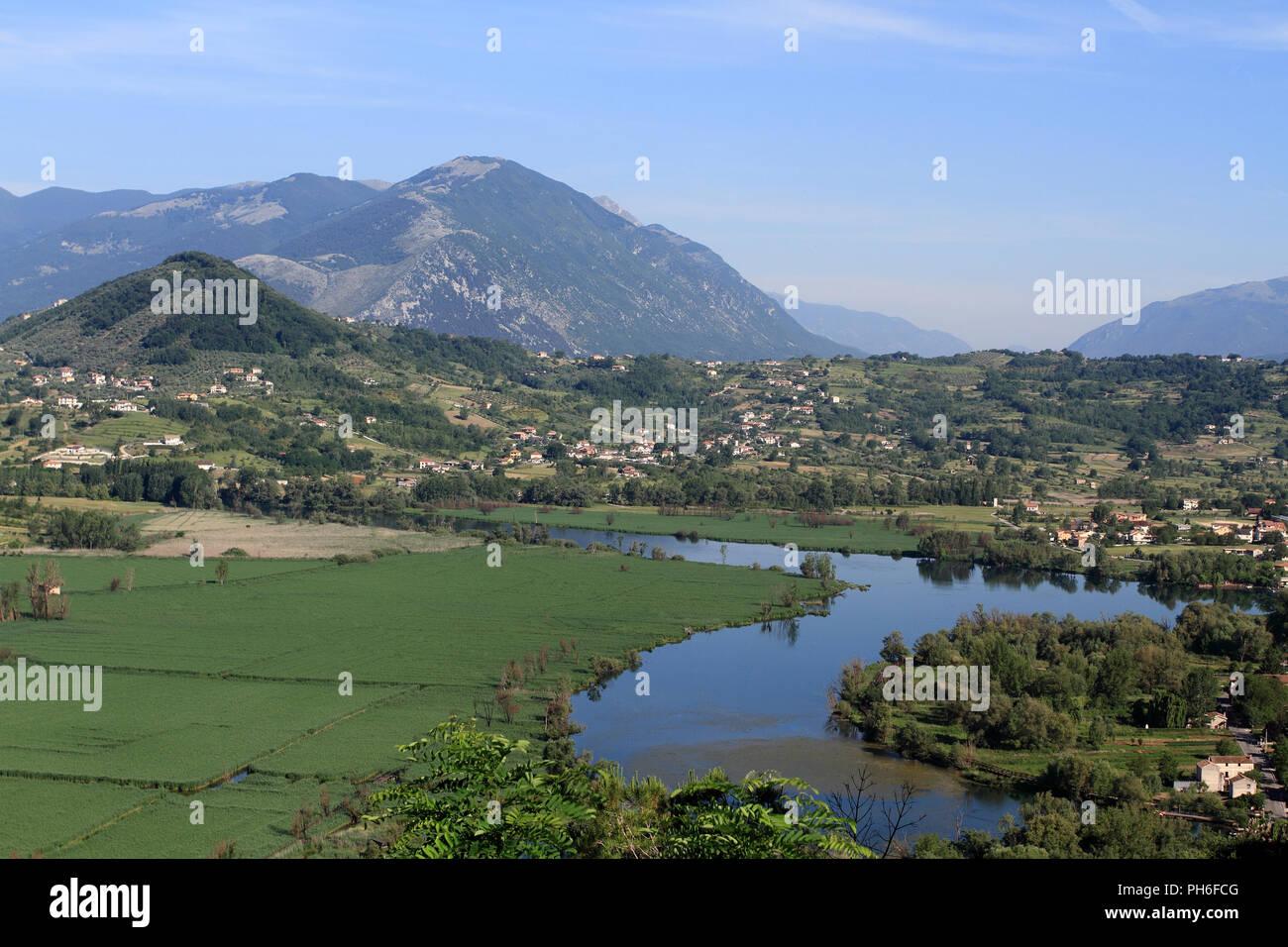 Posta Fibreno Lake - Stock Image