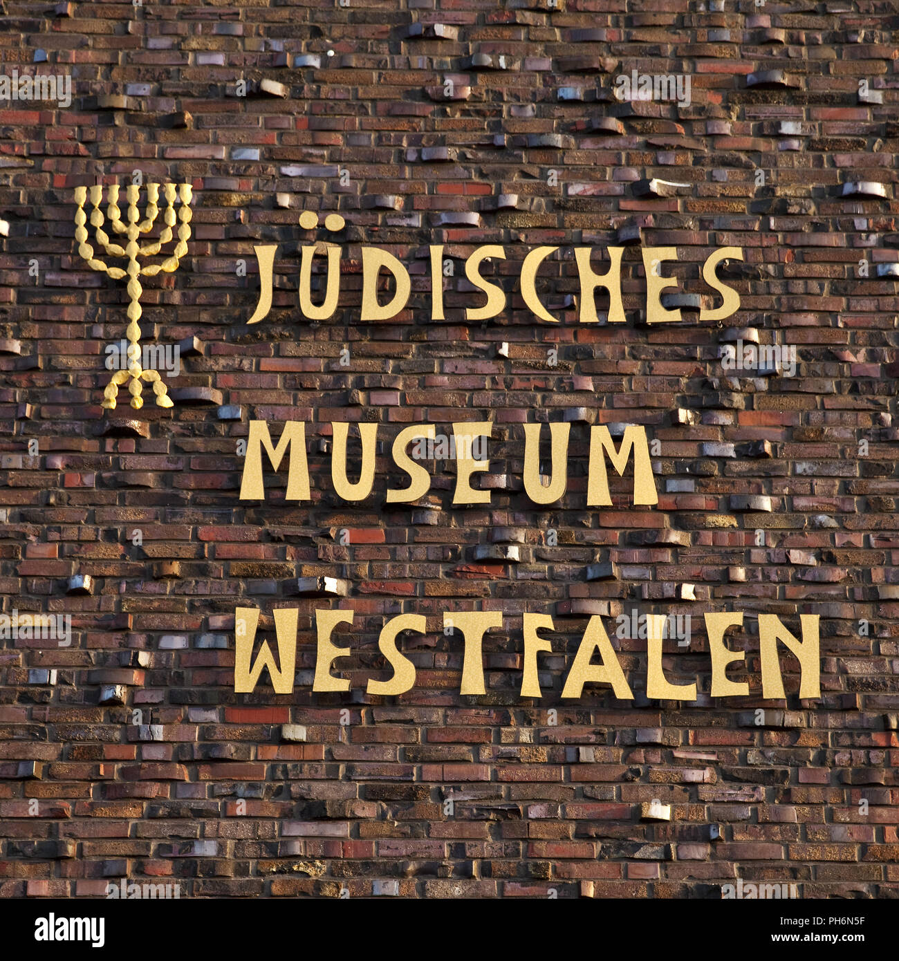 Jewish Museum of Westphalia, in Dorsten, Germany - Stock Image