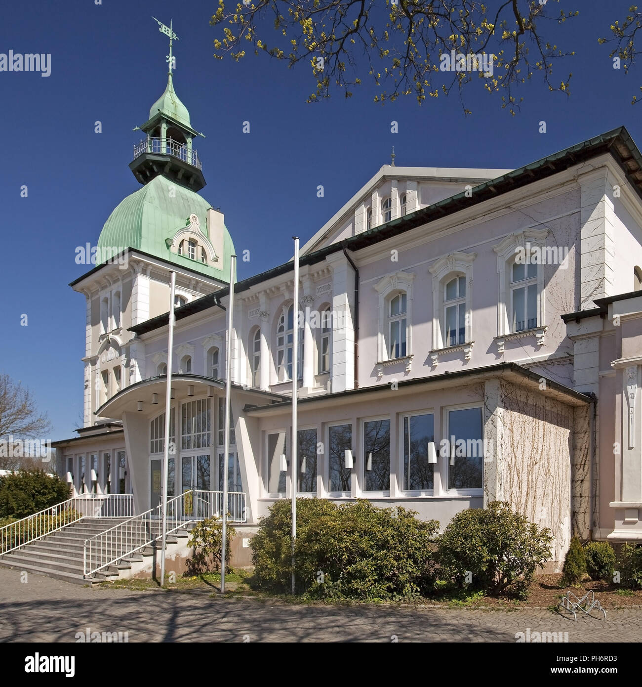 shooting club hall, Luedenscheid, Germany - Stock Image