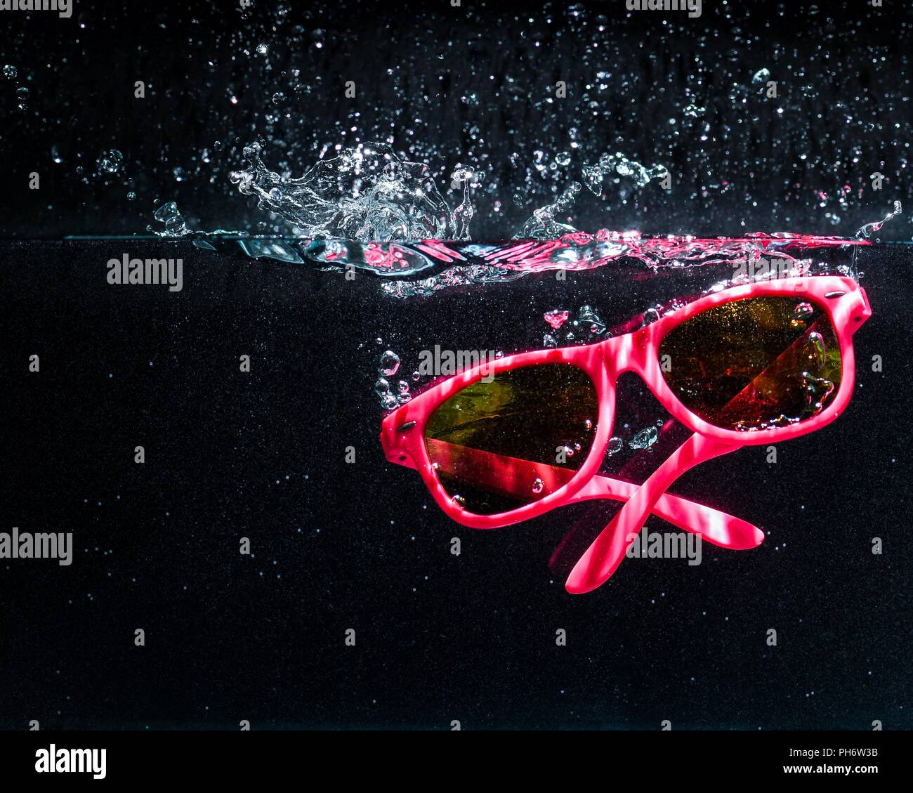 underwater glasses - Stock Image