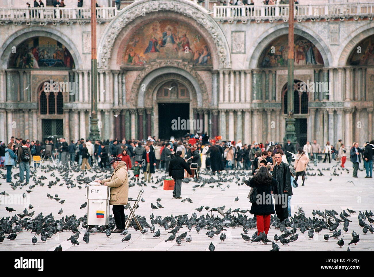 AJAXNETPHOTO. VENICE, ITALY - PIDGEONS ON PIAZZA SAN MARCO. PHOTO:JONATHAN EASTLAND/AJAX REF:51011_2720A4288 - Stock Image