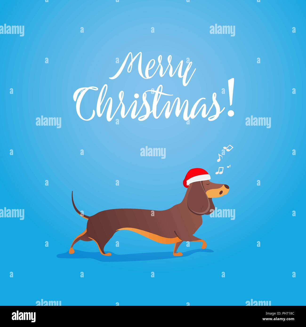 Dachshund Christmas Decoration Stock Photos & Dachshund Christmas ...