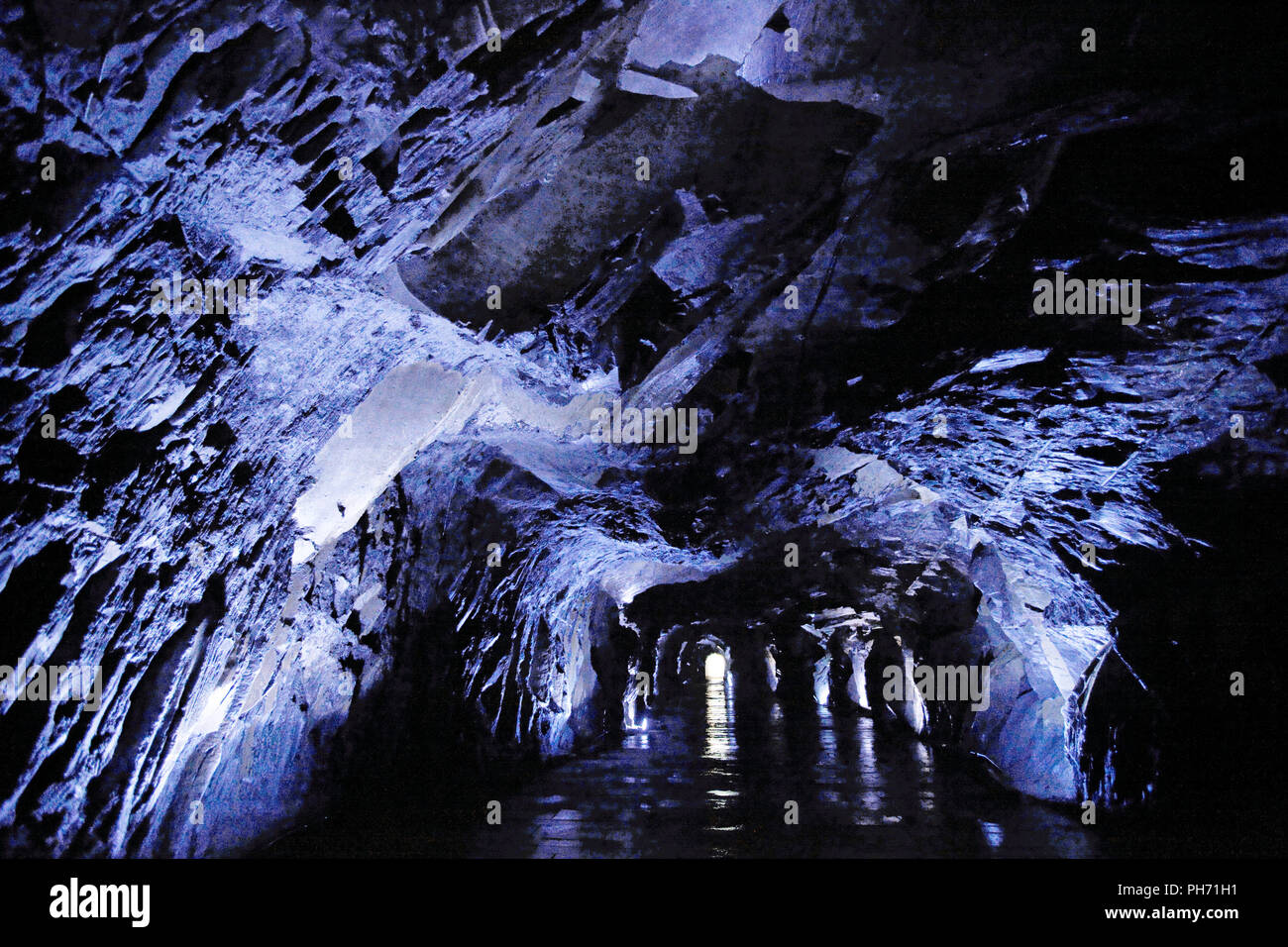 Abela healing cave in Bad Fredeburg, Sauerland, Germany - Stock Image