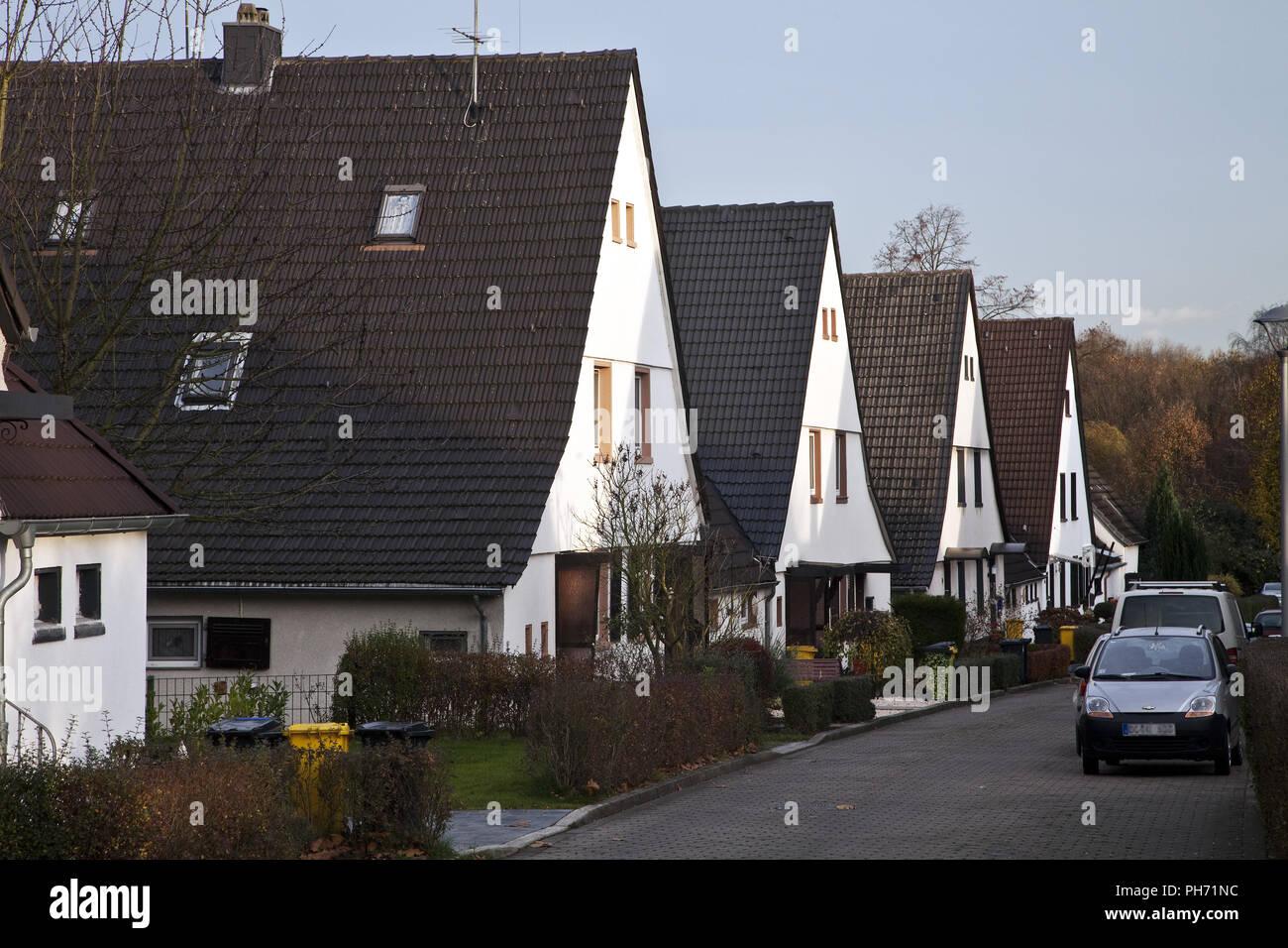 Housing development Dahlhauser Heide in Bochum. - Stock Image