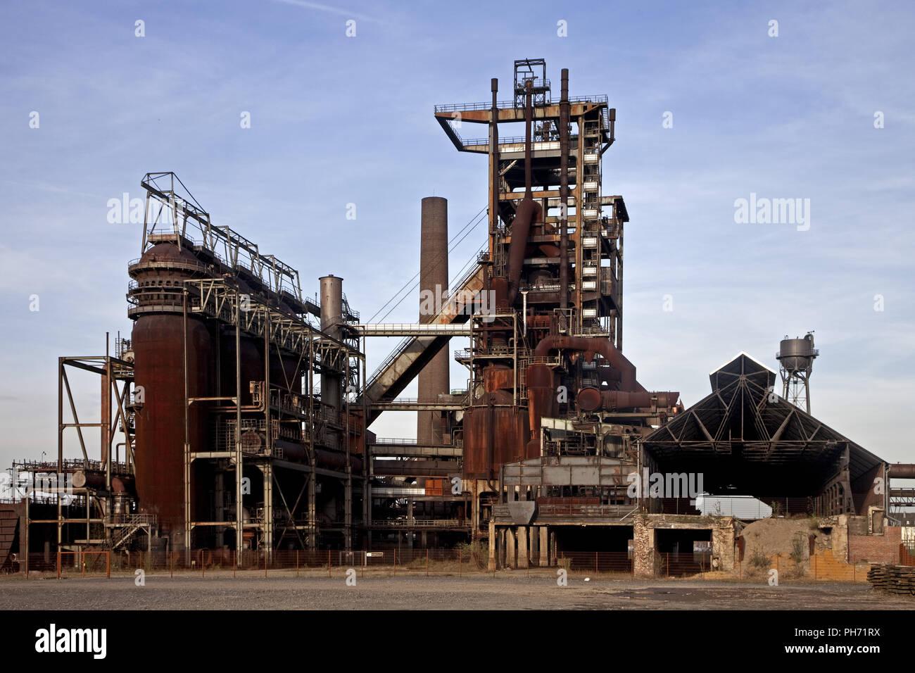 Blast furnace 5, Phoenix West, Dortmund, Germany. - Stock Image