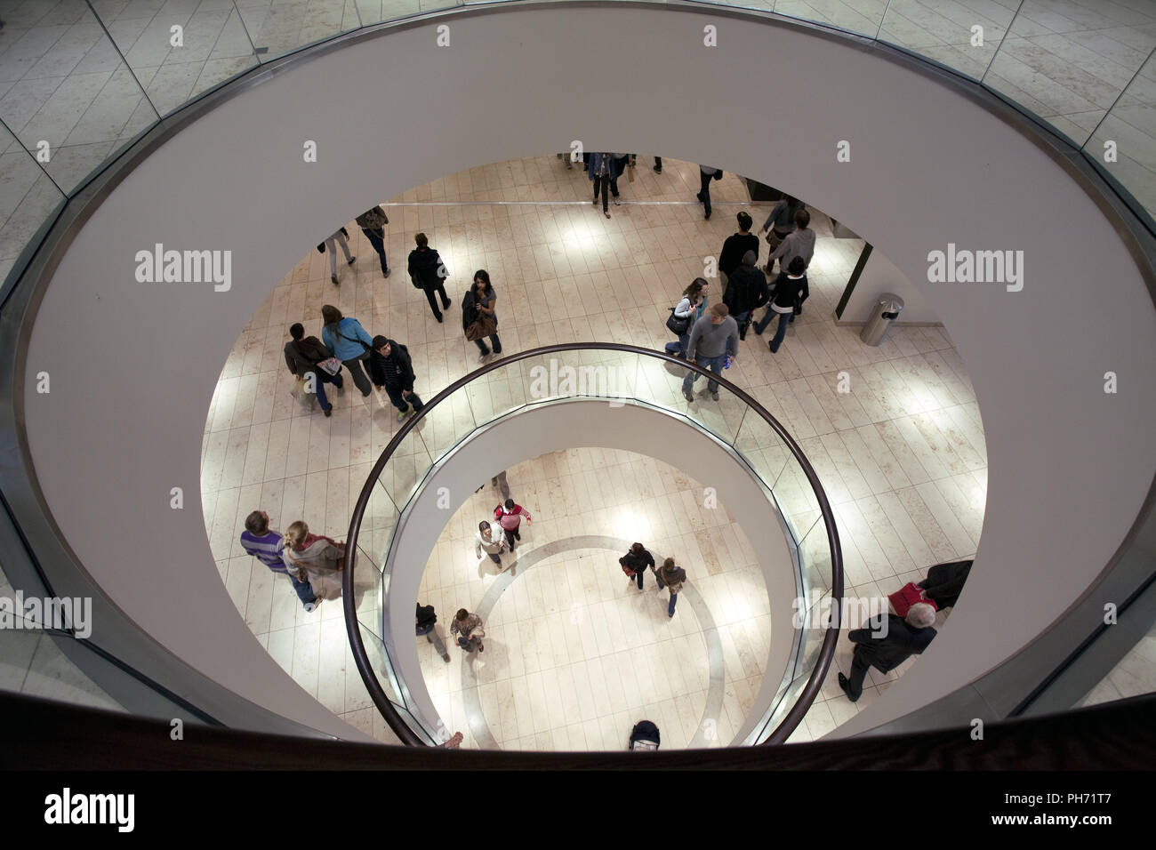 Shopping Center Thier Gallery, Dortmund, Germany. - Stock Image