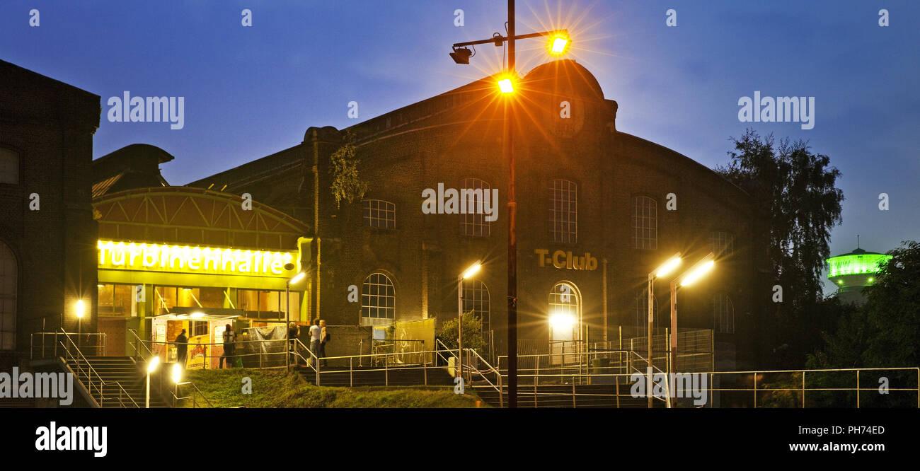 Turbine hall, Oberhausen, Germany - Stock Image