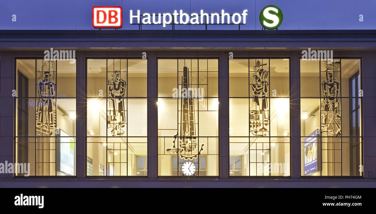 Central Station, Dortmund, Germany - Stock Image