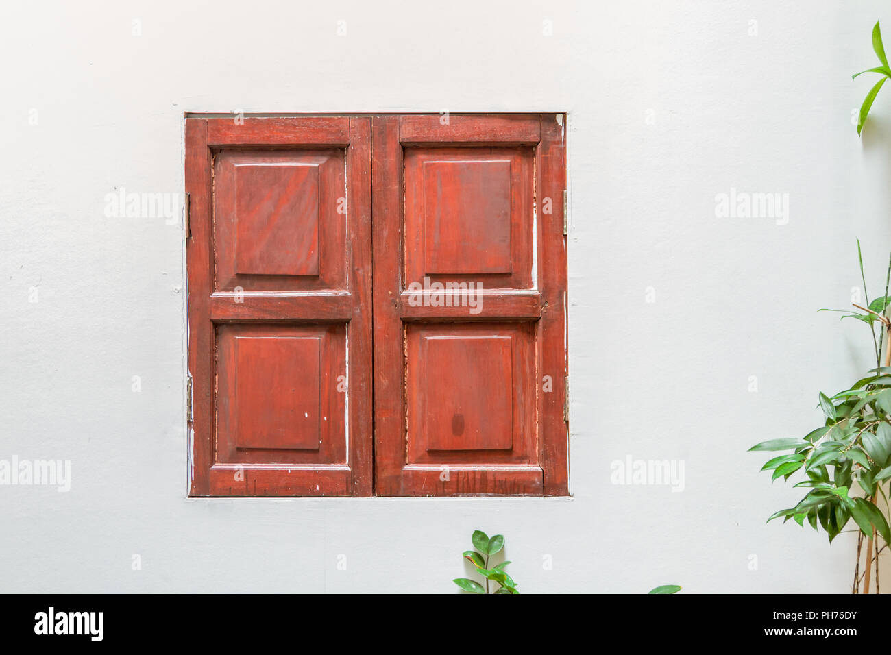 Window Of Old Wooden House Background For Decorate Design Stock Photo Alamy