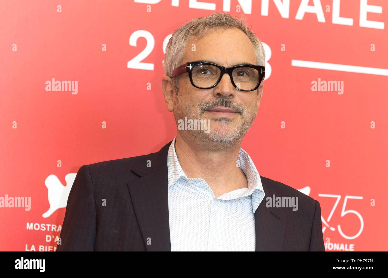 Venice Italy 30th Aug 2018 Alfonso Cuaron Poses At The Photo