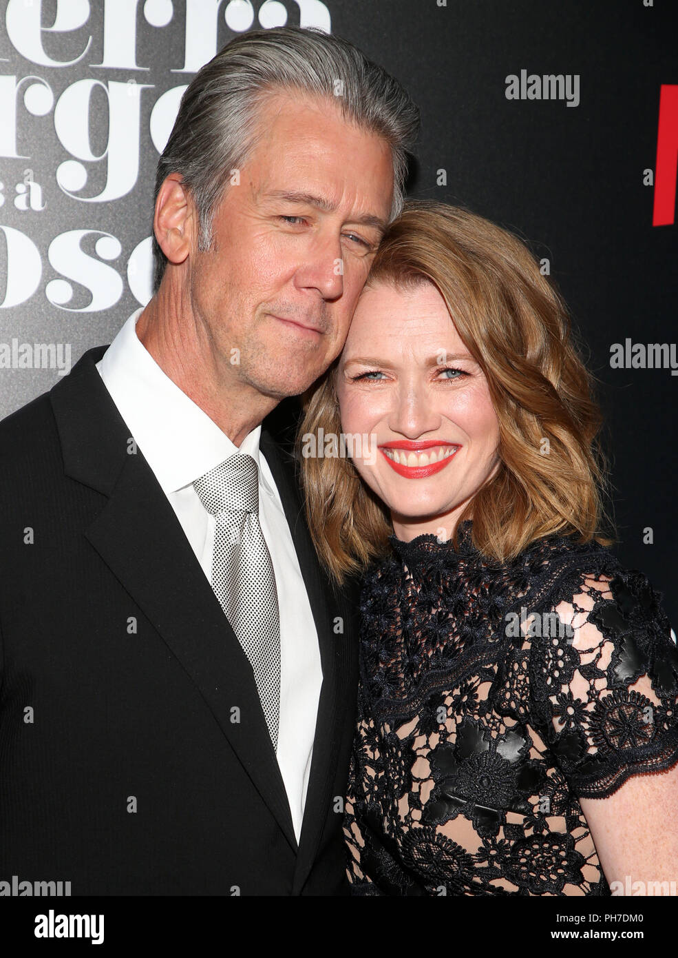 mireille enos and alan ruck stock photos  u0026 mireille enos