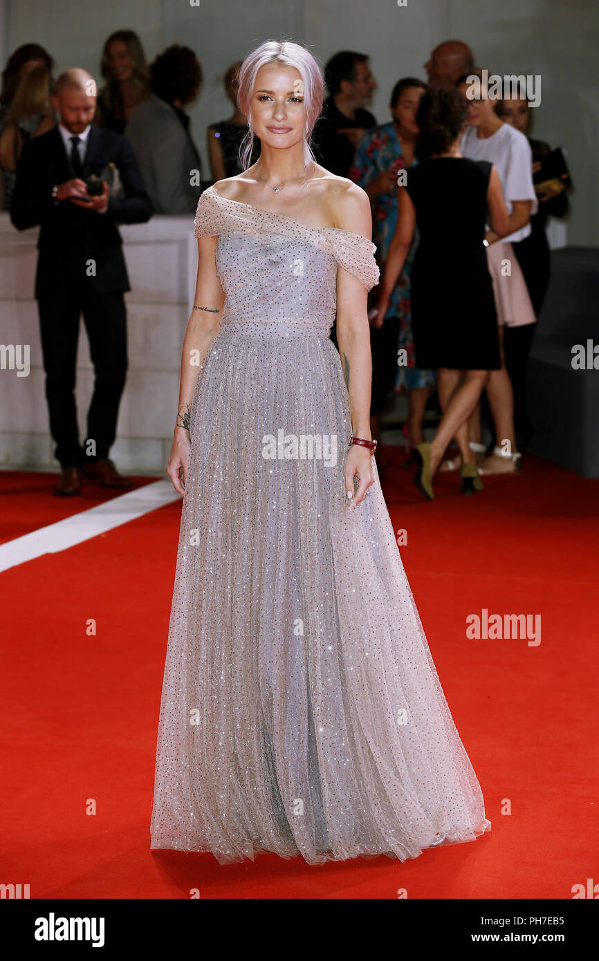 Venice, Italy. 30th Aug 2018. Charlotte Groeneveld attends the 'The Favorite' première on August 30, 2018 in Venice, Italy.(By Mark Cape/Insidefoto) Credit: insidefoto srl/Alamy Live News - Stock Image