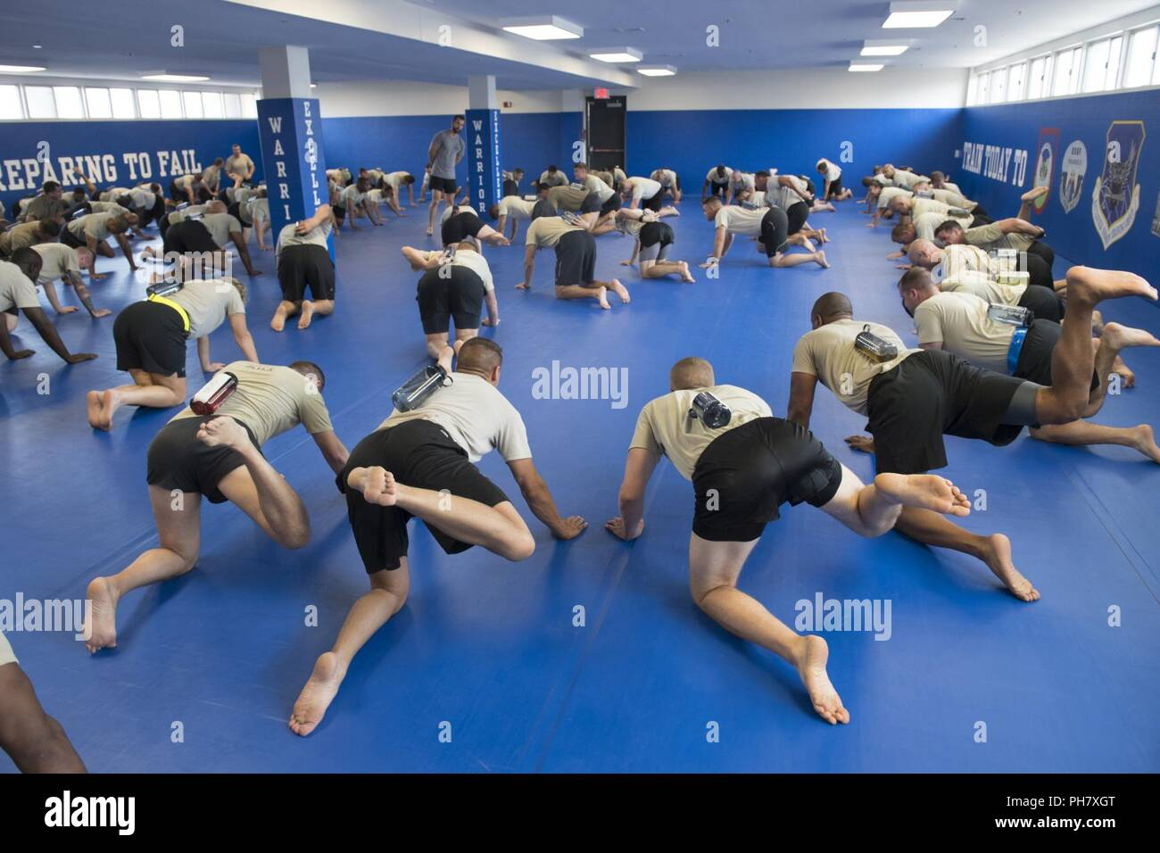 Special Operations Recruiters Experience Body Mobility Training