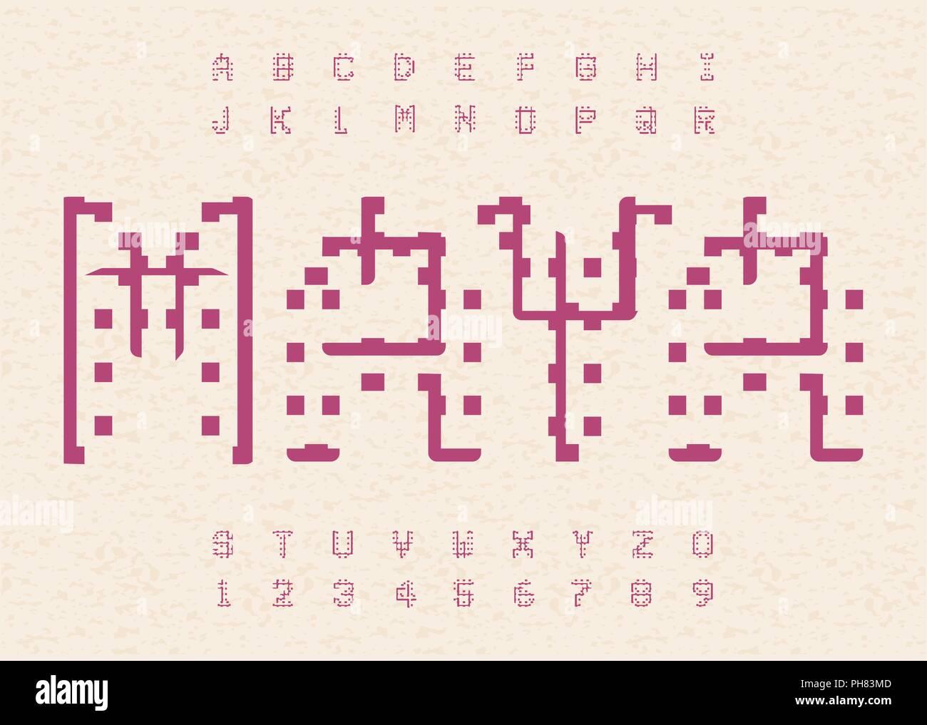 Hieroglyphic Alphabet Stock Photos Hieroglyphic Alphabet Stock