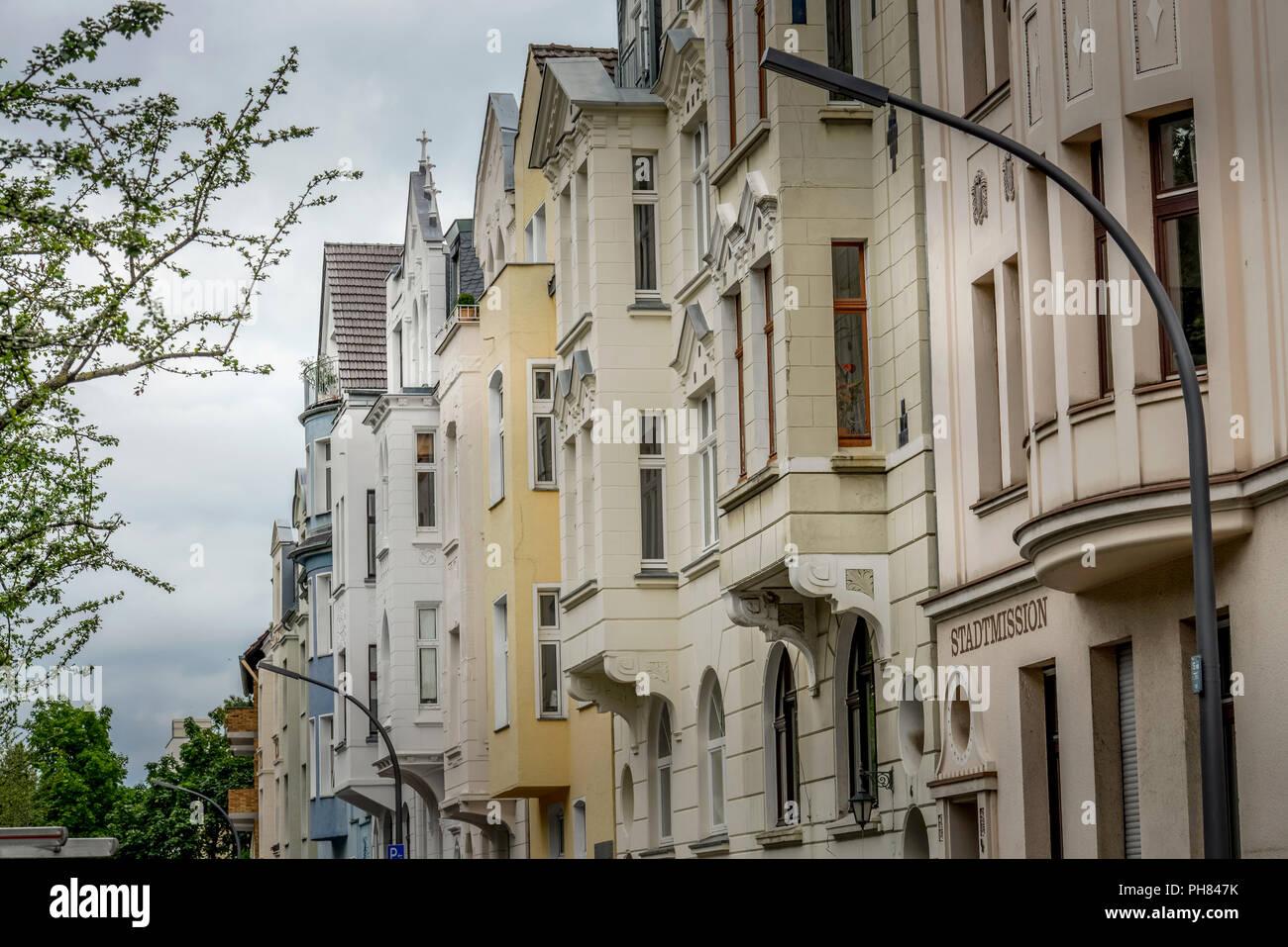 Altbauten, Erzbergerplatz, Nippes, Koeln, Nordrhein-Westfalen, Deutschland Stock Photo