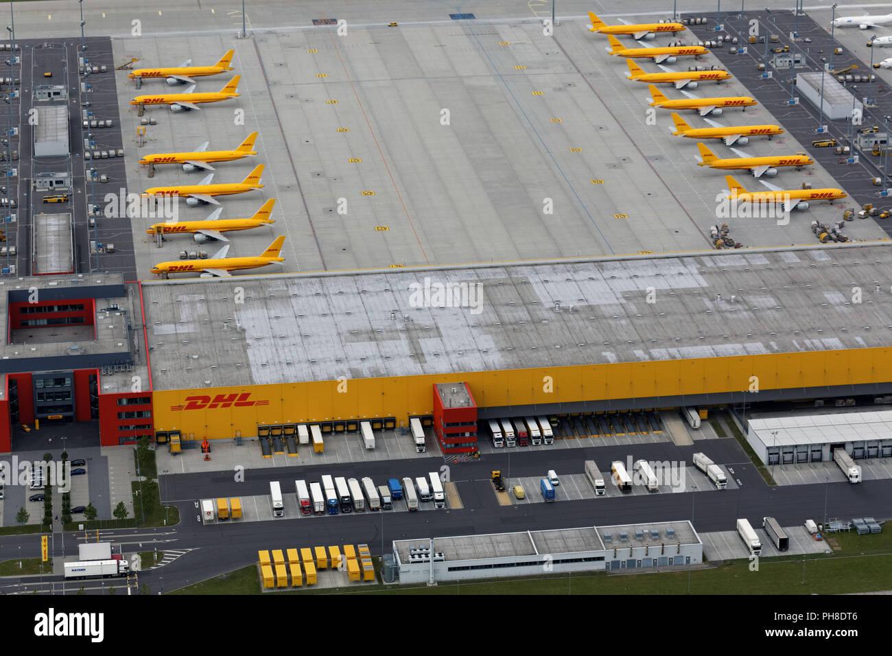 Dhl Hub Leipzig Gmbh Stock Photo 217160054 Alamy