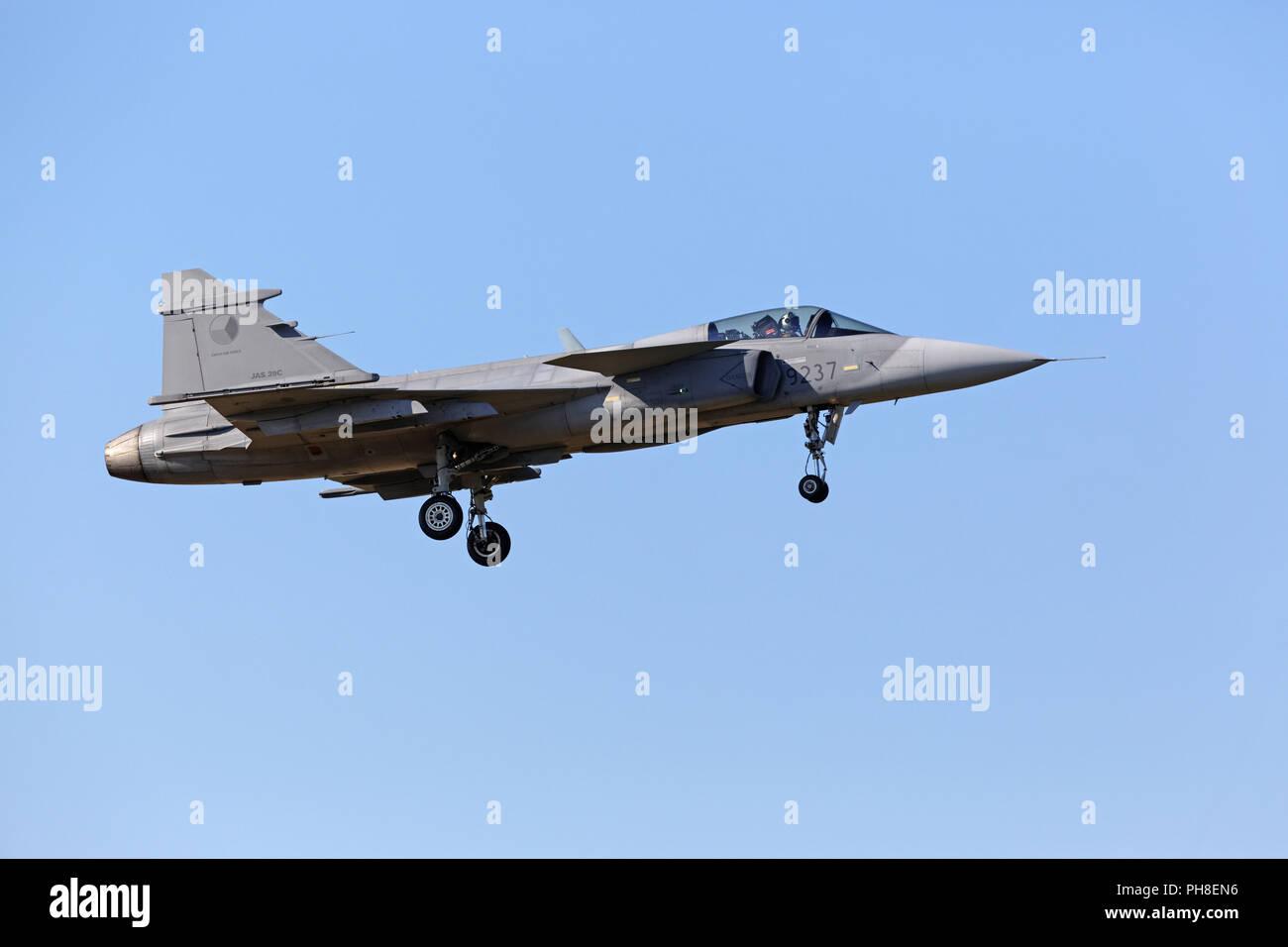 20. CIAF 2011: JAS39 Gripen Stock Photo