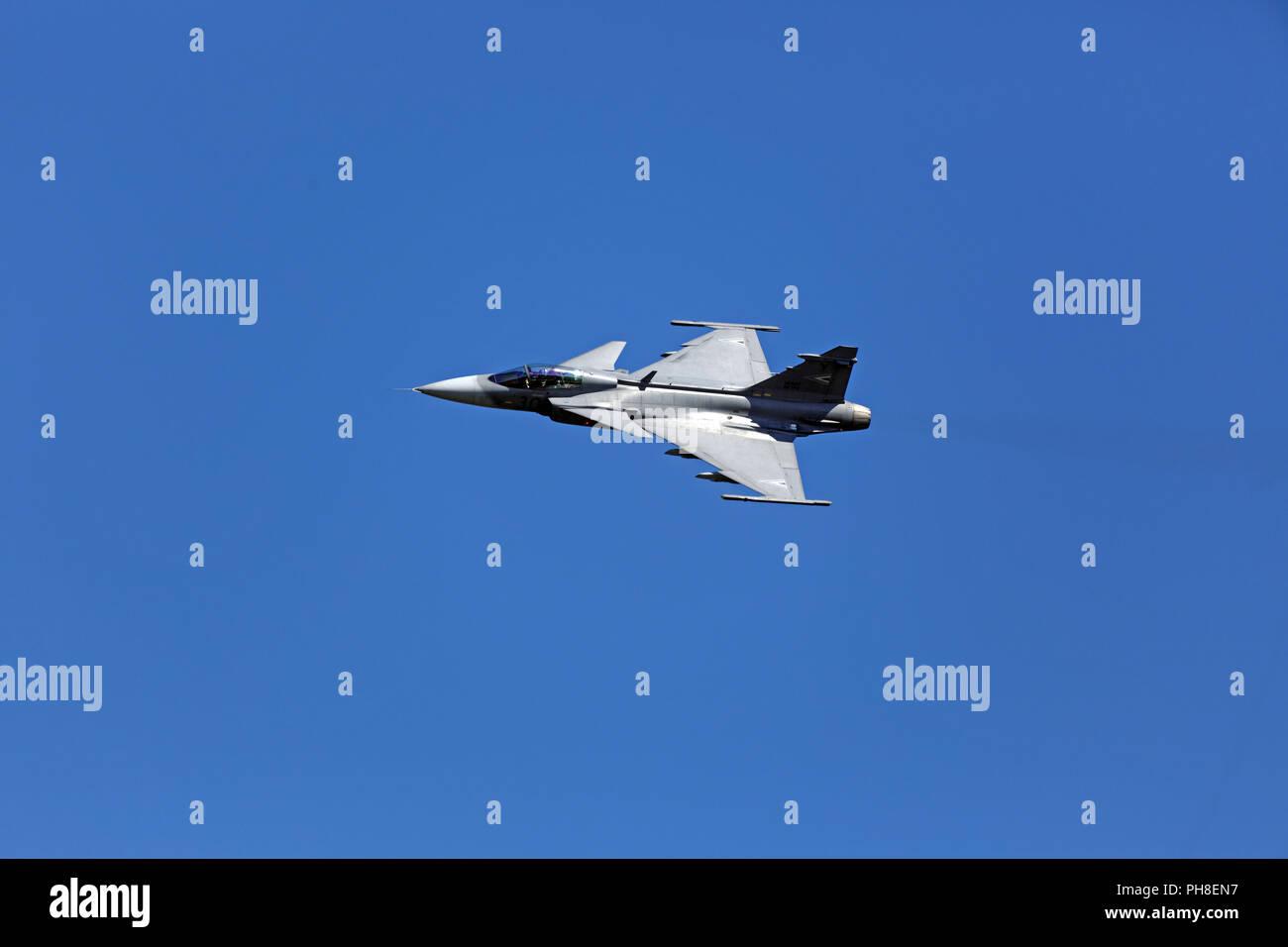 20. CIAF 2013: JAS39 Gripen Stock Photo
