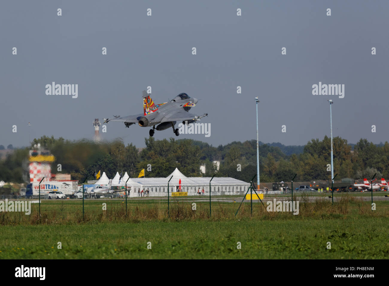 CIAF 2013: JAS39 Gripen Stock Photo
