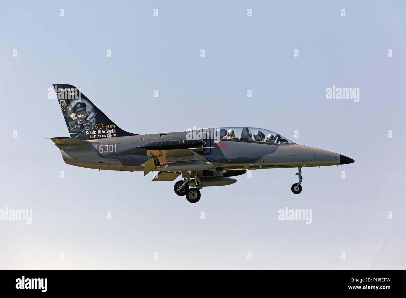 20. CIAF 2013: Aero L-39 Stock Photo